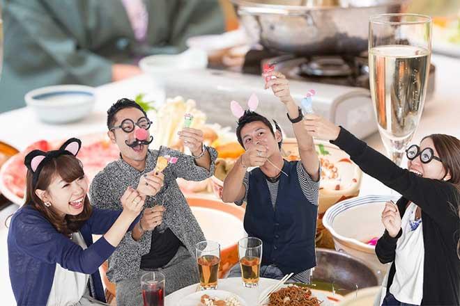 12月は忘年会で忙しい...(n4)Yearend party