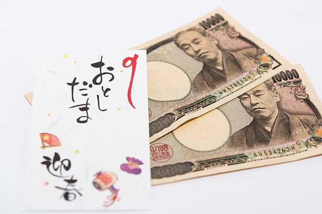 小学生のお年玉...(n4)<br>New Year's gift money