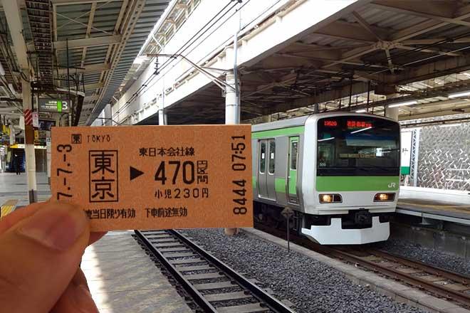 きっぷの買い方...(n4)<br>How to buy a ticket