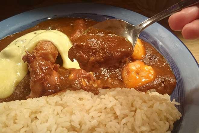 もうやんカレー...(n4)<br>Curry