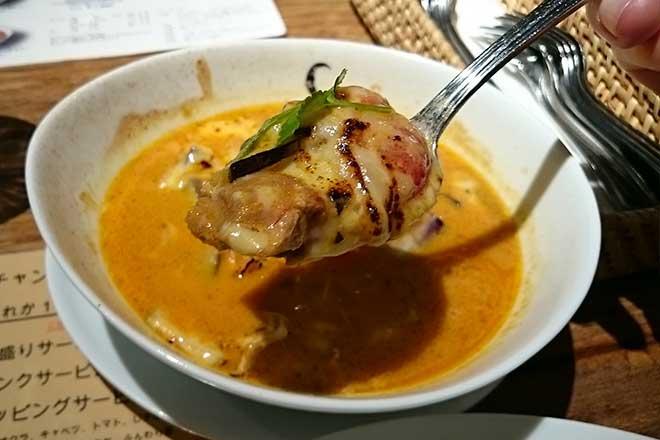 久しぶりの美味しいカレー...(n3)<br>Chantoya curry shop