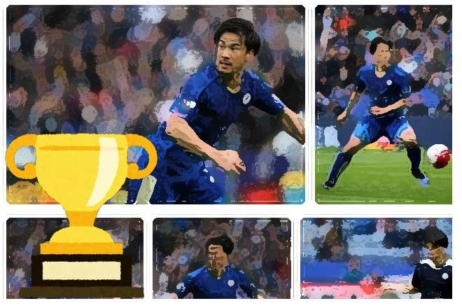 レスターゆうしょう...(n5)<br>Leicester City Win