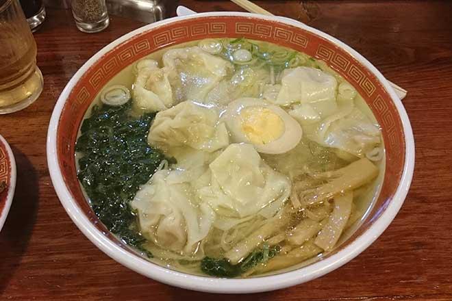 ワンタンラーメン...(n4)<br>Wonton noodles