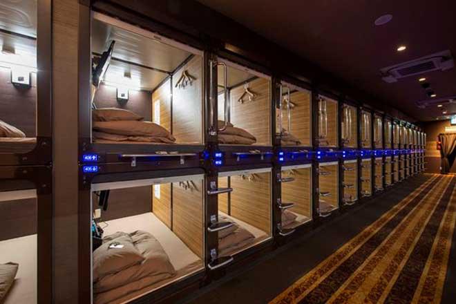 カプセルホテル...(n5)<br>Capsule Hotel