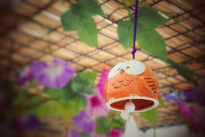 きれいな音の風鈴...(n5)<br>Wind-bell